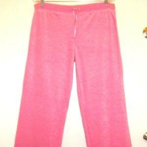 Stylish Soft Terrycloth Pink Sweat Pants